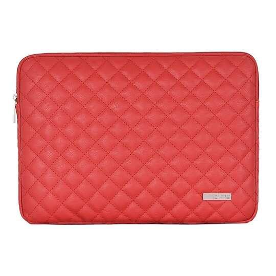 "Etui Canvas na laptopa 13,3"" L19 pikowane - Kolor: czerwony"