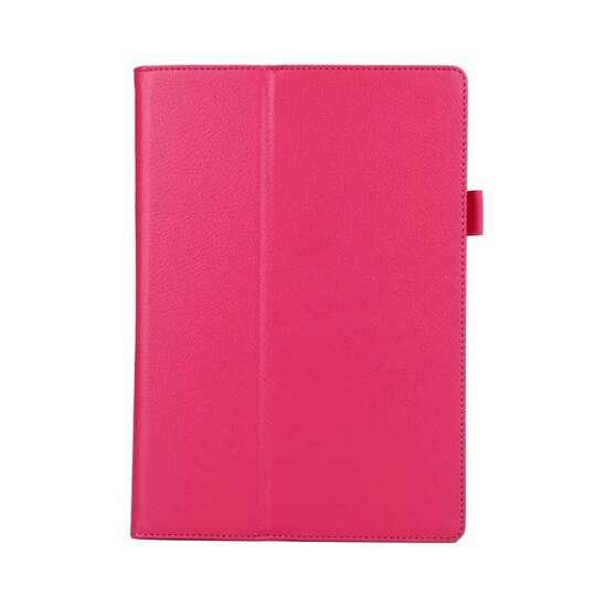 Etui Lenovo Tab 2 A10-70 / Tab 3 10 Business folia i rysik - Kolor: różowy