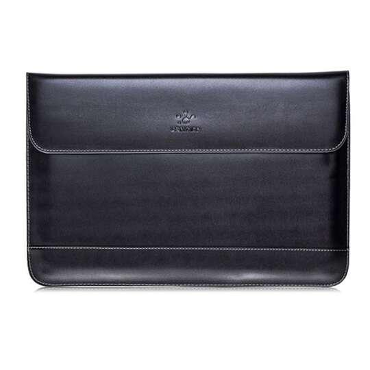 Etui Lention skóra naturalna Macbook Air 13 - Kolor: czarny