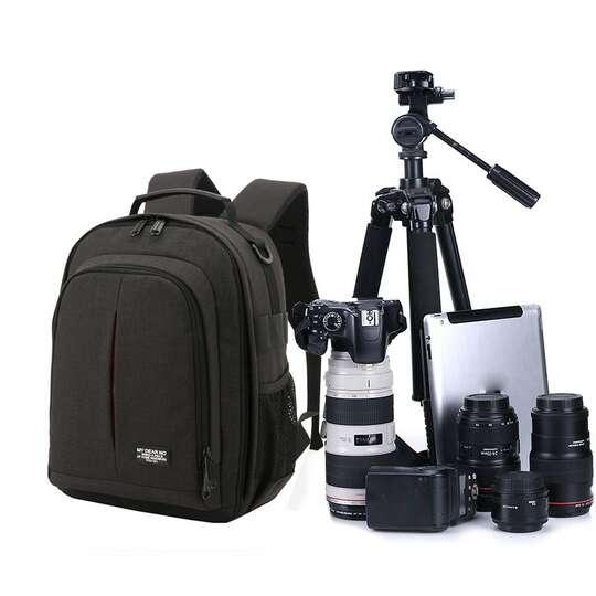 Plecak fotograficzny MDN na aparat - Kolor: czarny
