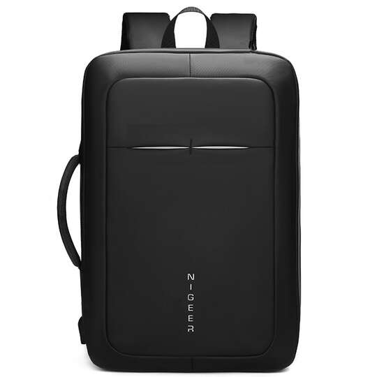 """Plecak/torba Nigeer na laptopa 17,3"""" 1810 z USB - Kolor: czarny"""