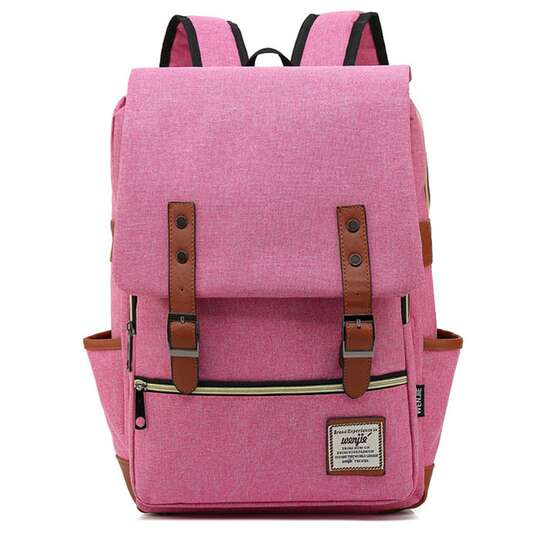 "Plecak Oxford na laptopa 15,6"" - Kolor: różowy"