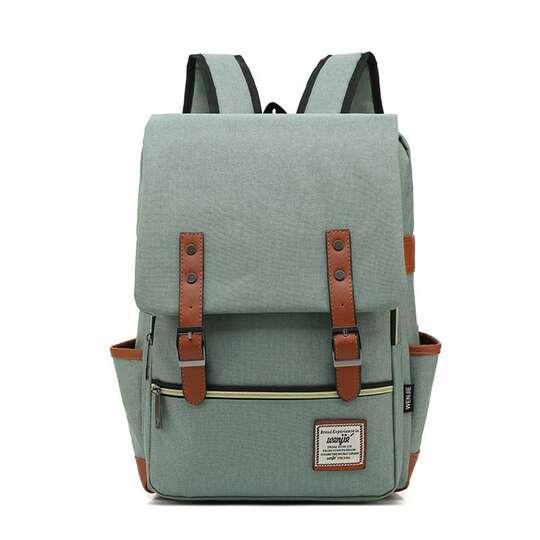 "Plecak Oxford na laptopa 15,6"" - Kolor: jasnozielony"