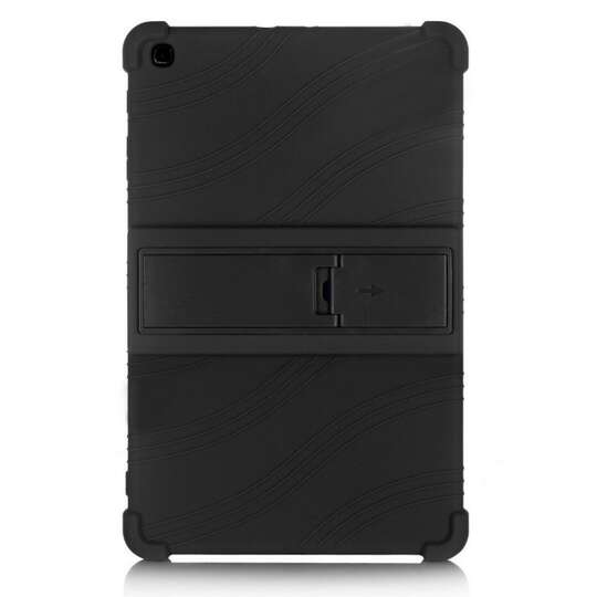 Etui silikonowe Samsung Galaxy Tab A 10.1 2019 T510 T515 - Kolor: czarny