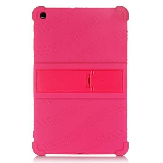 Etui silikonowe Samsung Galaxy Tab A 10.1 2019 T510 T515 - Kolor: różowy