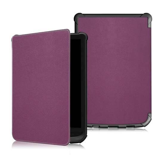 Etui Pocketbook 616/627/632/Touch Lux 4/Basic Lux 2/Touch HD 3 - Kolor: fioletowy