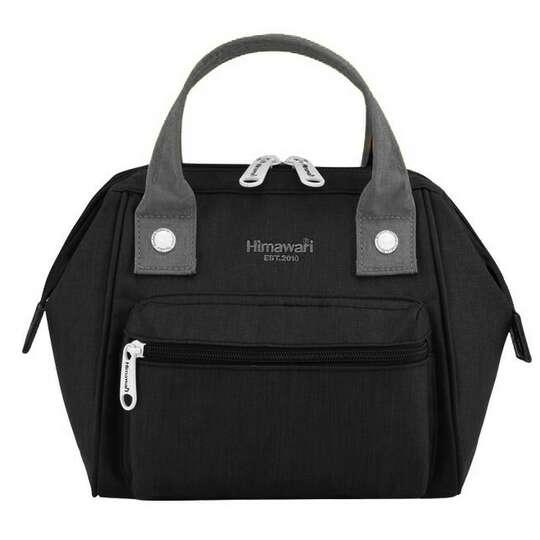 Torebka/plecak Himawari SS9113  - Kolor: czarno-szary
