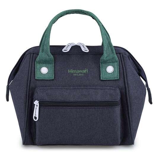 Torebka/plecak Himawari SS9113  - Kolor: granatowo-zielony