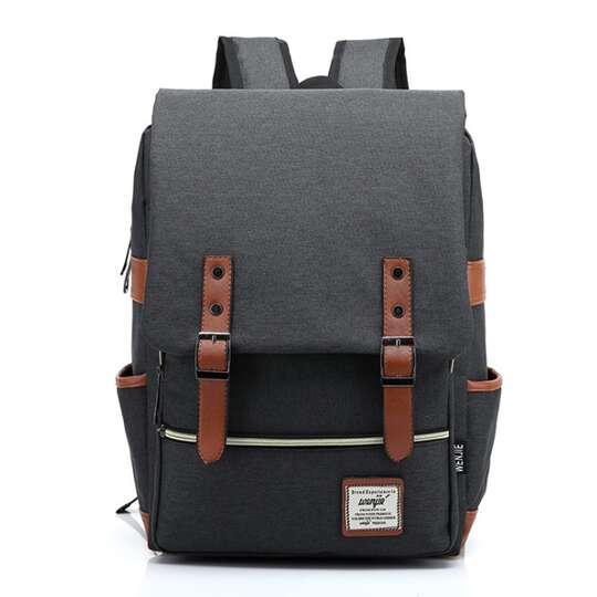 """Plecak Oxford na laptopa 15,6"""" - Kolor: ciemnoszary"""