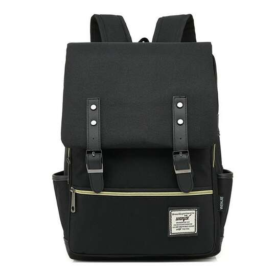 "Plecak Oxford na laptopa 15,6"" - Kolor: czarny"