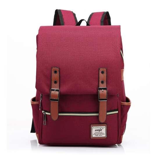 "Plecak Oxford na laptopa 15,6"" - Kolor: czerwony"