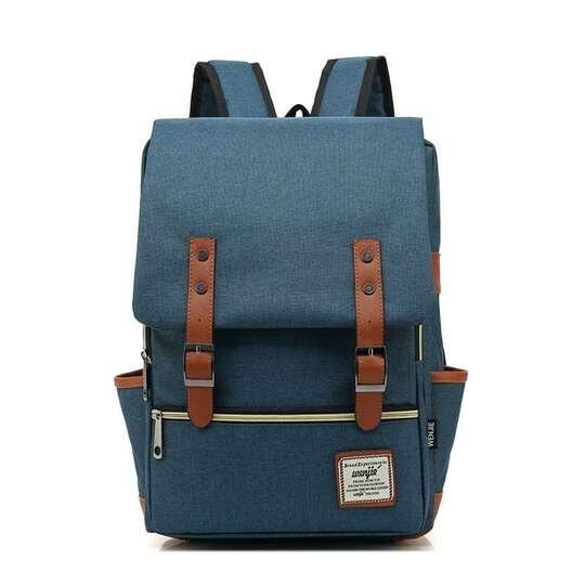 "Plecak Oxford na laptopa 15,6"" - Kolor: granatowy"
