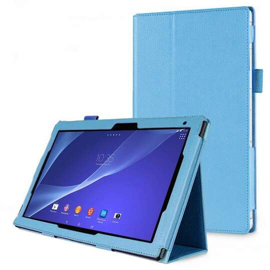 Etui Sony Xperia Z2 Tablet + folia i rysik - Kolor: niebieski