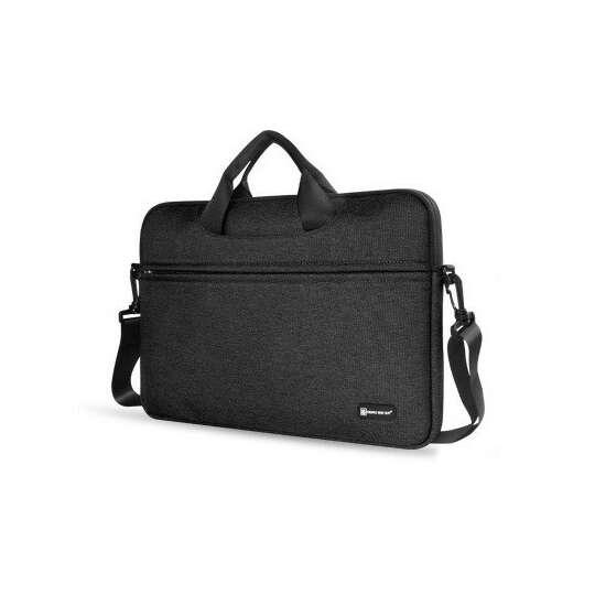 "Etui/torba na laptopa 13.3"" z paskiem - Kolor: czarny"