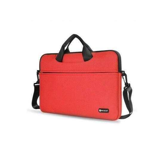 """Etui/torba na laptopa 13.3"""" z paskiem - Kolor: czerwony"""