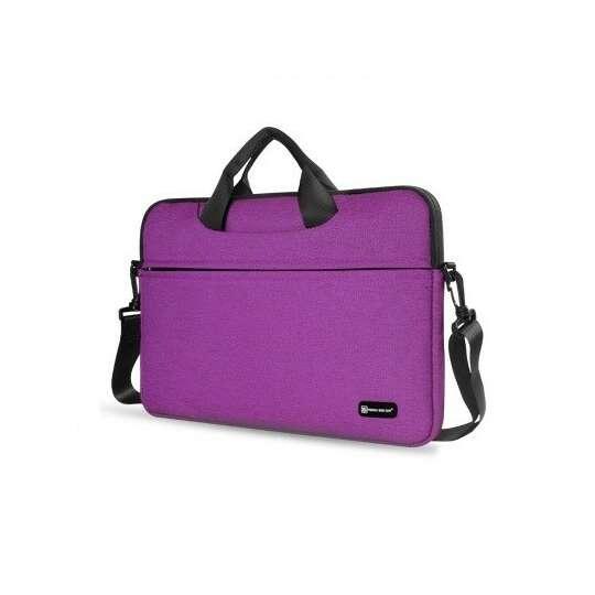 """Etui/torba na laptopa 13.3"""" z paskiem - Kolor: fioletowy"""