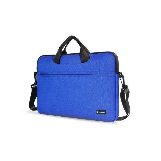 """Etui/torba na laptopa 13.3"""" z paskiem - Kolor: niebieski"""