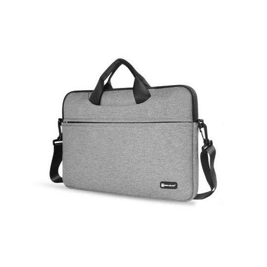 """Etui/torba na laptopa 13.3"""" z paskiem - Kolor: szary"""