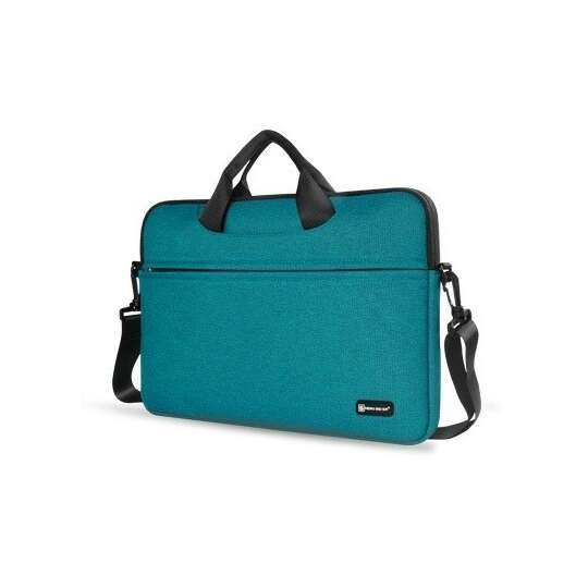 """Etui/torba na laptopa 13.3"""" z paskiem - Kolor: zielony"""