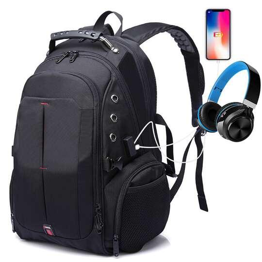 """Plecak Bange na laptopa 15,6"""" 16,4"""" BG-1905 bardzo pojemny złącze USB"""