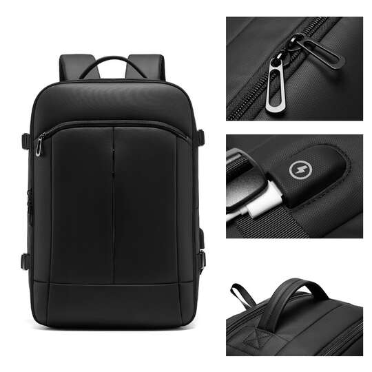 "Plecak Eurcool/Nigeer na laptopa 15,6"" EC-2100 z USB"